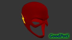 Flash Mask 3D Model