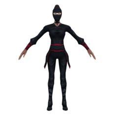 Game 3D Characters – Black Men – Women 3D Model