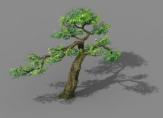 Explore the mountains – Cliff – Tree 04 3D Model