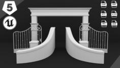 Classic Gate 3D Model