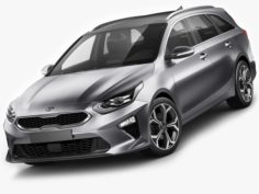 Kia Ceed SW 2019 3D Model
