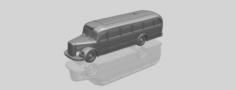 Mercedes Benz O6600 Bus 1950 3D Model