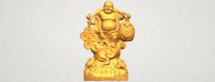 Metteyya Buddha 09 3D Model