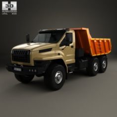 Ural Next Dumper Truck 2016 3D Model