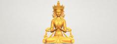 Tibet Budhha 01 3D Model