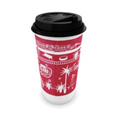 Paper cup for hot drinks 3D Model