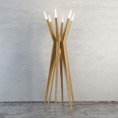 Elegant Floor Lamp 3D Model