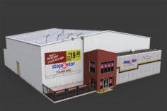 Self Storage Warehouse 3D Model