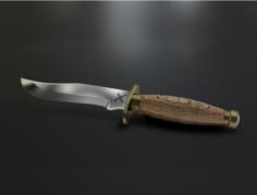 Hunting Knife Free 3D Model