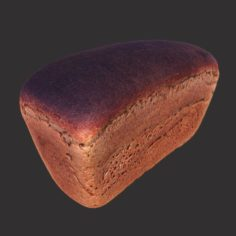 Soviet Brick Bread 3D Model
