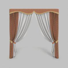 Curtains 3 3D Model
