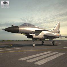 Chengdu J-10 3D Model