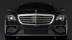 Mercedes Benz S 560 Lang AMG Line V222 2018 3D Model