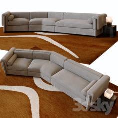 Howard sectional sofa                                      3D Model
