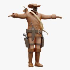 Cowboy Cloth 3D Model