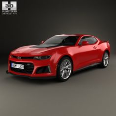 Chevrolet Camaro ZL1 2016 3D Model