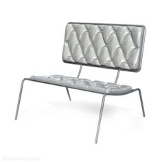 Chair 3D Model With Soft Back