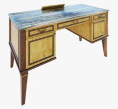 Furniture Classic Writing table 3D Model