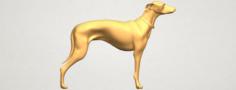 Skinny Dog 03 3D Model