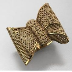 Knot ring 3D Model