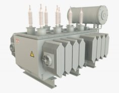 Electrical Transformer1 3D Model