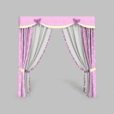 Curtains 9 3D Model