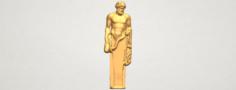 Sculpture of a man 03 3D Model