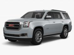 GMC Yukon 2018 3D Model