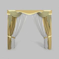 Curtains 13 3D Model