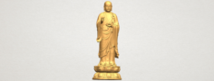 The Medicine Buddha 3D Model