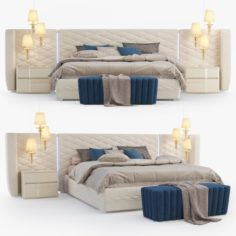 DallAgnese Chanel Bedroom set 3D Model