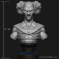Belmod Bust 3D Printing Figurine – STL Files Print Model 3D Model
