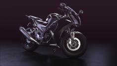 Custom sportbike 3D Model