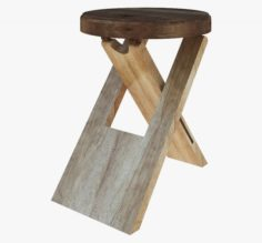 Furniture Stool 3D Model