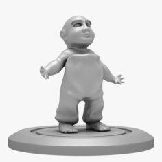 Child 01 3D Print 3D Model