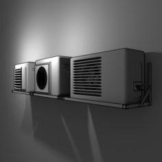 Air-Conditioner-Condensing 3D Model