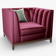 3D The sofa and chair company – Alexander chair 3D Model