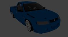Low-medium poly vehicle pack 3D Model