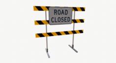 Roadblock 05 3D Model