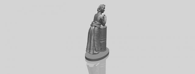Village Girl 02 3D Model