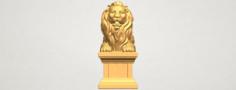 Lion 04 3D Model