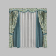 Curtains 6 3D Model