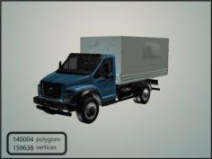 GAZon Next 2014 Truck 3D Model