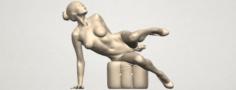 Naked Girl B10 3D Model