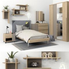 Furniture Gautie collection GRAPHIC part 01                                      3D Model