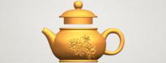 Tea Pot 03 3D Model