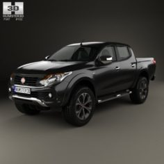 Fiat Fullback Double Cab 2016 3D Model