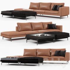 Ditreitalia KIM sofa                                      3D Model