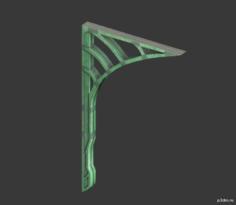 Metal Bridge 3D Model