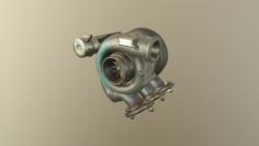 Turbocharger 3D Model